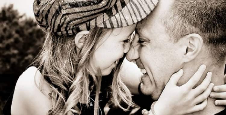 babayla öpüşmek