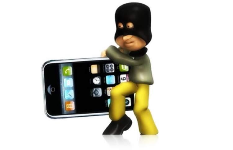 hırsızın telefon çalması