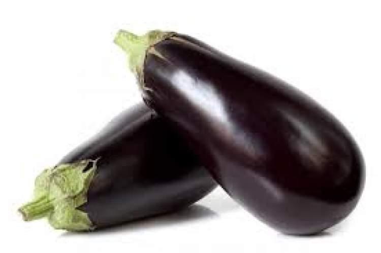 patlıcan aldığını görmek